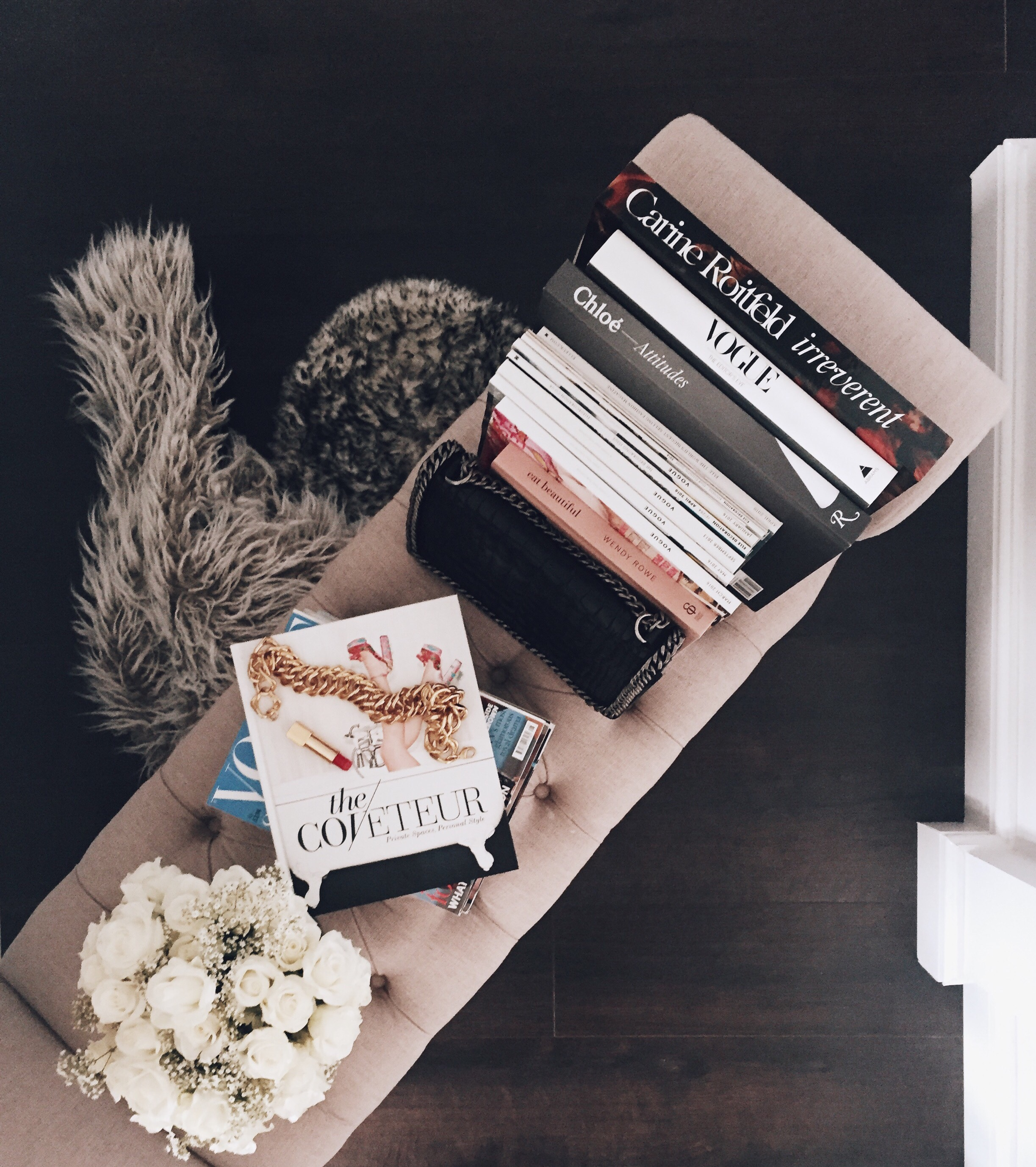 Interior styling x coffee table books