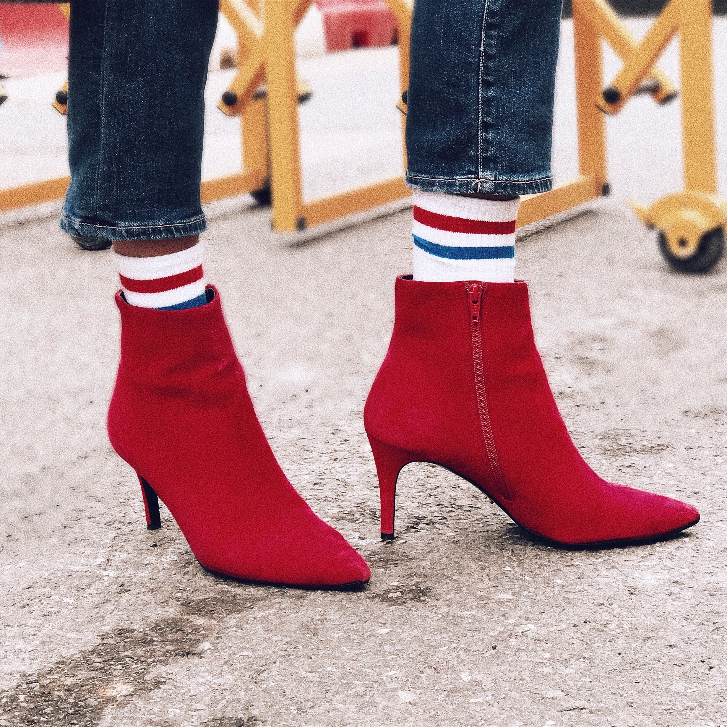 Three Ways To Wear The Red Boots This
